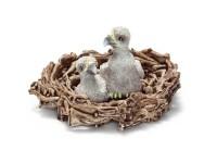Schleich 14635 Adlerjungen im Nest