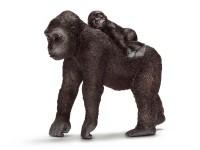 Schleich 14662 Gorilla Weibchen mit Baby