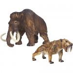 Schleich 41390 Scenery Pack Mammut und Smilodon