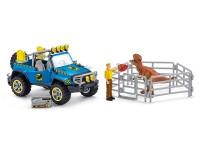 Schleich 41464 Geländewagen mit Dino-Aussenposten