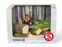 Schleich 41806 Scenery Pack Waldarbeit