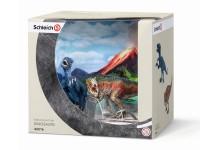 Schleich 42216 T-Rex & Velociraptor klein