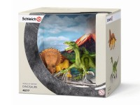 Schleich 42217 Triceratops & Therizinosaurus klein