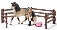 Schleich 42270 Pferdepflegeset Andalusier