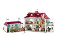 Schleich 42416 Grosser Pferdehof mit Wohnhaus und Stall