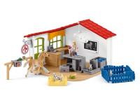 Schleich 42502 Tierarztpraxis mit Haustieren