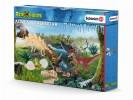 Schleich 97152 Adventskalender Dinosaurier